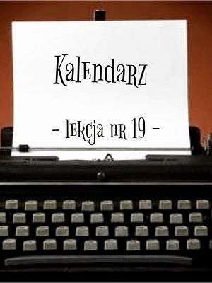 19 Lekcja kalendarz po rosyjsku