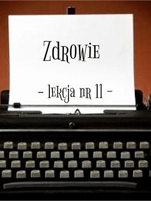 11 Lekcja zdrowie po rosyjsku
